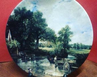 Collectible Royal Doulton Constable plate 'The Hay Wain'