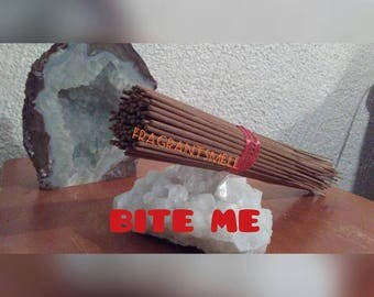 Incense sticks-Bite me scents-handmade dipped-home fragrance-high quality 100ct incense.