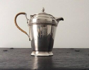 Antique Silver Pitcher / Claret Jug / Water Jug / Tea Pot / Victorian