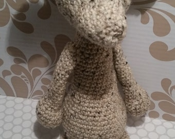 London the Llama Crocheted Stuffed Animal
