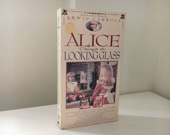 Alice Through The Looking Glass VHS 1985 RARE