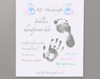 Inkless handprint kit