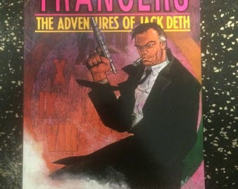 Trancers The Adventures Of Jack Deth Comic by Eternity Comics - Movie Tie In