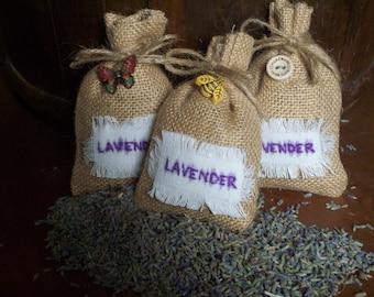 3 x Lavender sacks