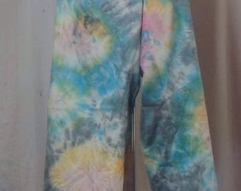 Multi-Color Linen Pants, Size 16 (#56)