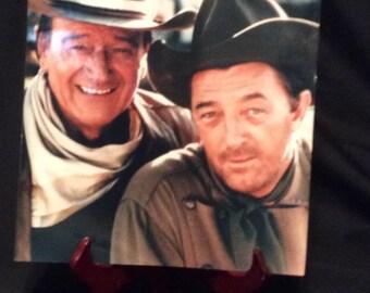 """Photo John Wayne and Robert Mitchum """"El Dorado"""""""