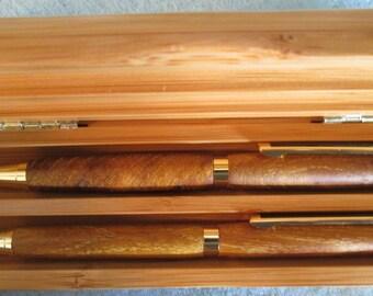 Bodarc Pen and Pencil set,  (Bois de Arc) wood
