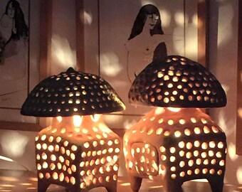 Terra Cotta Lamps