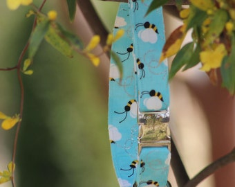 "Our ""Bzzzzy Bee"" Collar!"