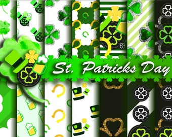 St. Patrick's Digital Paper Pack