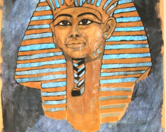 Digital Print Egyptian King Tut