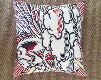 Hermes Pegase Pop Decorative Pillow