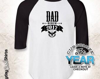 Dad Since (Any Year), Dad Gift, Dad Birthday, Dad tshirt, Dad Gift Idea, Baby Shower, Pregnancy