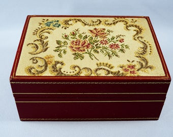 Rolex Vintage Tapestry Box