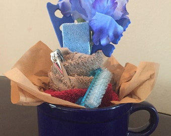 Blue Iris Nail Set