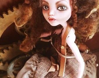 Monster High Custom Repaint Art doll OOAK Draculaura