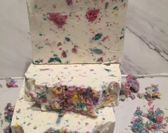 Citrus Confetti Cold Process Homemade Soap ON SALE NOW !!!!