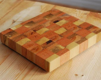 end-grain cutting board and 120ml Wood Butter --- FREE SHIPPING within Canada