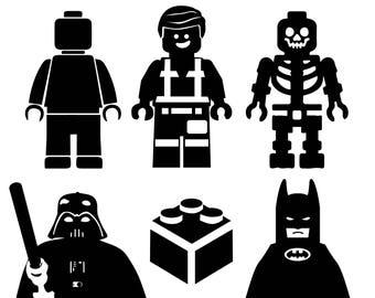 Lego SVG bundle