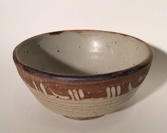 Handmade Stoneware Pottery Bowl noodles rice soup gifts