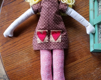 Rag doll, Cloth doll