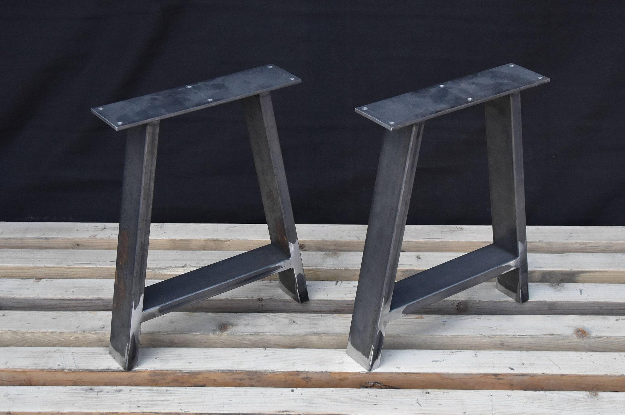 a forme pieds de banc en acier pieds de table basse pieds. Black Bedroom Furniture Sets. Home Design Ideas