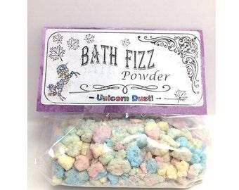 Unicorn Dust Bath Fizz Powder