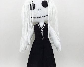 Wiccan Plushie/rag dolls/Plushies/dolls/stuffed dolls/creepy dolls/horror dolls/soft toys/handmade plushies/made in USA/unique gifts/felt