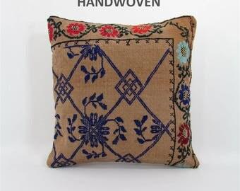 decorative pillow kilim pillow cover throw pillow kilim pillow case turkish cushion tapestry rustic pillow farmhouse decor home decor 000224