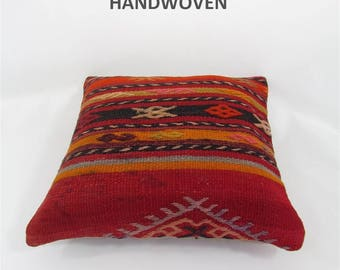 decorative pillow kilim pillow cover throw pillow kilim pillow case turkish cushion tapestry rustic pillow farmhouse decor home decor 000380