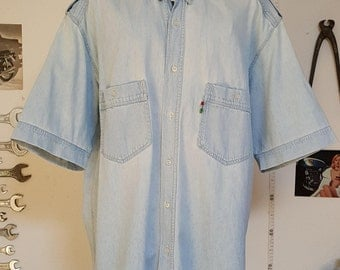 Moschino denim shirt
