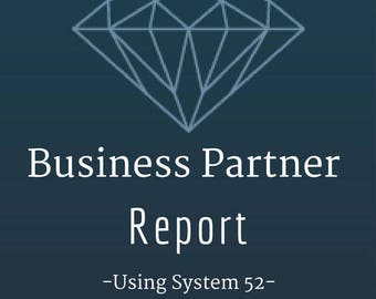 Business Associates Reading,Knowing Connections=Success, Working Partner Report, System 52, Cards of Destiny, PDF Download, Ancient System