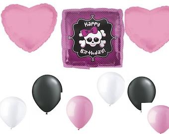 Happy Birthday Girly Skull Bouquet