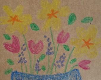 Beautiful Bouquet Greeting Card