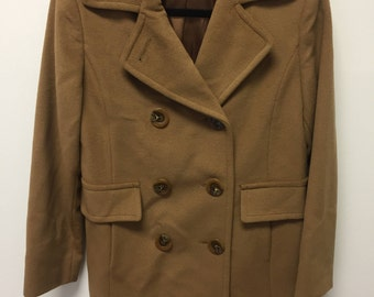Marshall Field's Wool Peacoat Size 6 (New with Tags)