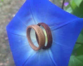 CUSTOM Bent Wood Ring