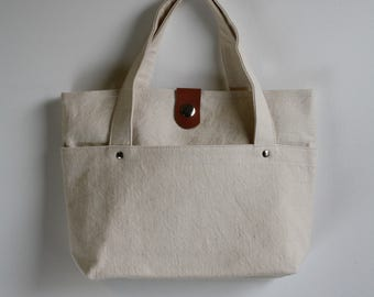 Limited Edition carry bag - white chalk