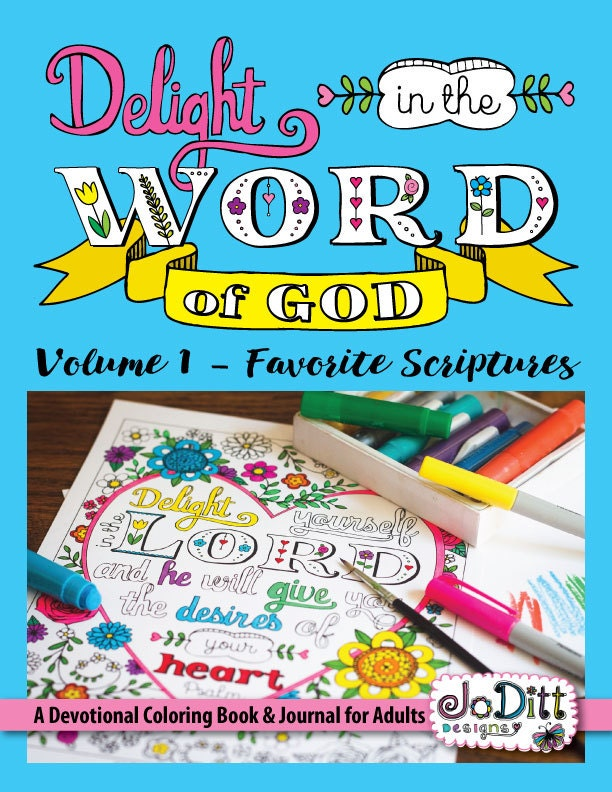 Printable Christian Coloring Book For Adults Delight In The