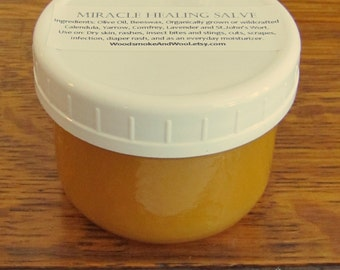 Miracle Healing Salve - All natural, homegrown, hand-foraged and handmade!