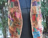 Guatemalan patchwork vest old!
