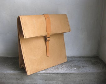 Kraft Paper Lunch bag, Eco-friendly Case, Kraft Paper case, Kraft Paper organiser, Kraft Paper bag, Paper Storage, Food Storage, Picnic Bag