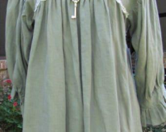 Ladies 3/4 sleeve 100% Linen Lagenlook Hi Lo Peasant Top-SALE