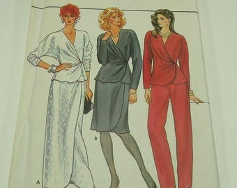Butterick Misses' Tunic, Skirt, And Pants Pattern 4605 Size 12