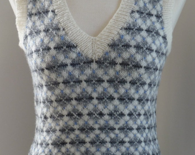 pdf pattern for the Inga Vest by Elizabeth Lovick
