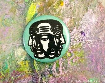 Mahadev button pin