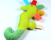 Organic Baby Rattle Seahorse Teether
