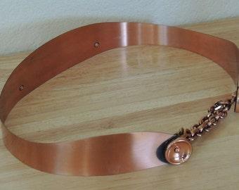 1950s Copper Belt Mid Century  sz M