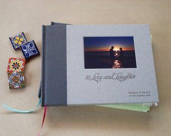 CUSTOM Wedding Photo Guest Book Wedding · Guest Book Wedding · Personalized Wedding Guest Book · Bridal Shower Gift · Wedding Album Keepsake