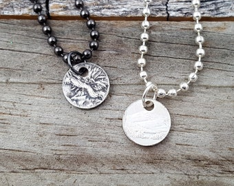 Add a Punch Necklace to your 90% Silver National Park Coin Ring MR0802-TNPCUST