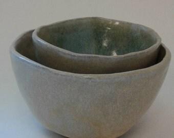 Mossy Stones Tall Nesting Bowls Set